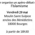 Apéro Débat Islamisme 29 mai