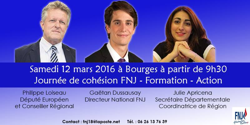Philippe Loiseau , Gaetan Dussausaye et Julie Apricena